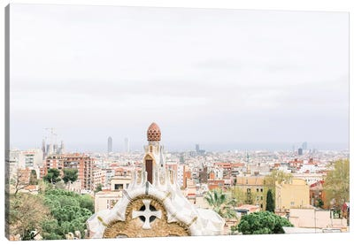 Cityscape, Barcelona, Spain Canvas Art Print