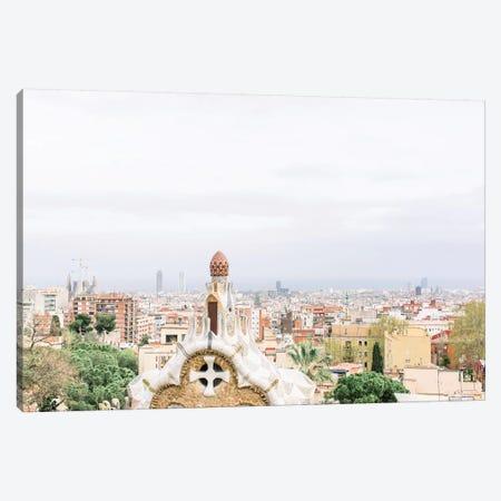 Cityscape, Barcelona, Spain Canvas Print #LLH41} by lovelylittlehomeco Canvas Artwork