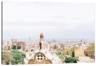 Cityscape, Barcelona, Spain Canvas Art Print