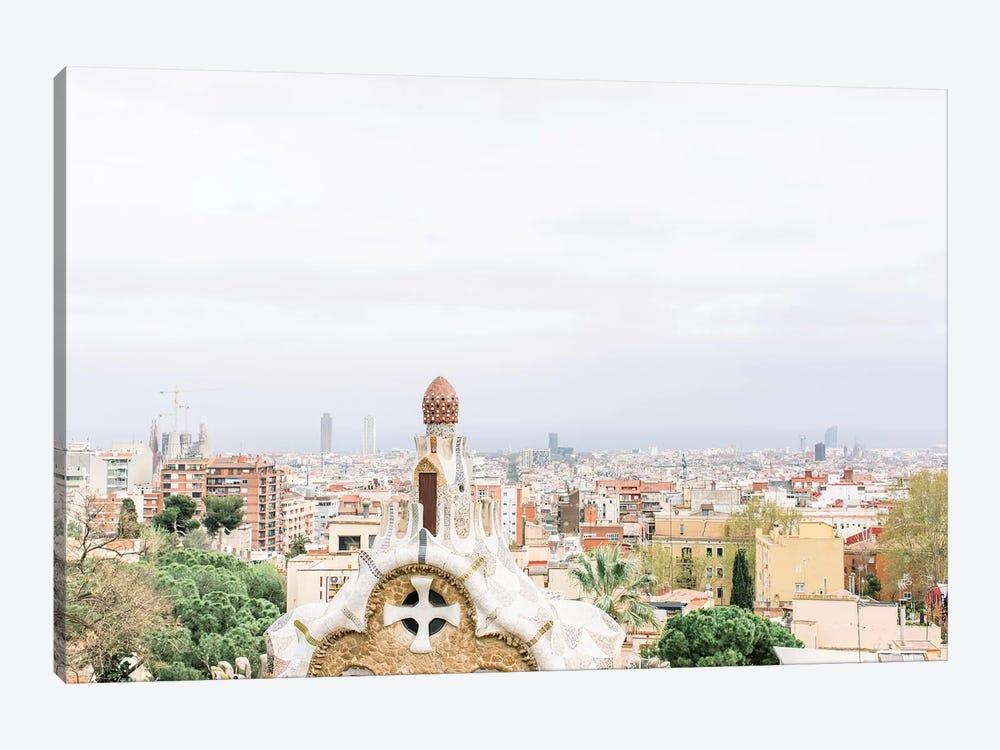 Cityscape, Barcelona, Spain by lovelylittlehomeco 1-piece Canvas Print