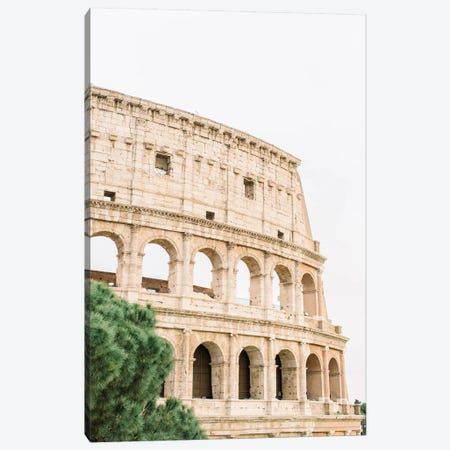 Colosseum I, Rome, Italy Canvas Print #LLH42} by lovelylittlehomeco Canvas Art