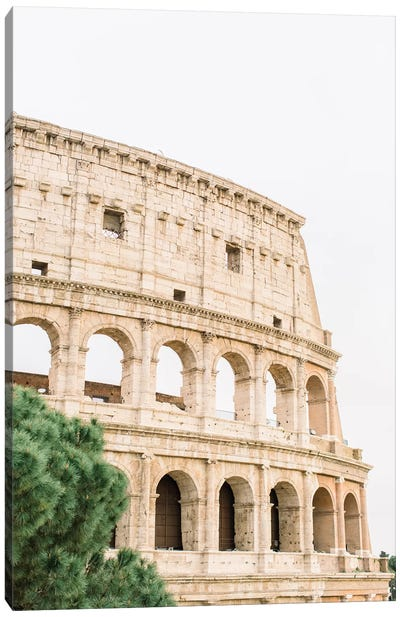 Colosseum I, Rome, Italy Canvas Art Print