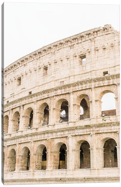 Colosseum II, Rome, Italy Canvas Art Print
