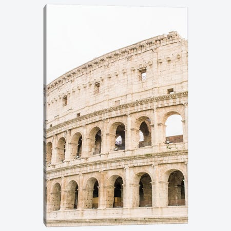 Colosseum II, Rome, Italy Canvas Print #LLH43} by lovelylittlehomeco Canvas Art