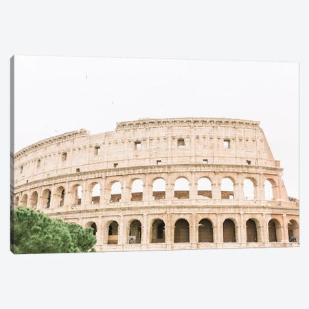Colosseum III, Rome, Italy Canvas Print #LLH44} by lovelylittlehomeco Canvas Print