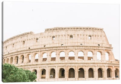 Colosseum III, Rome, Italy Canvas Art Print