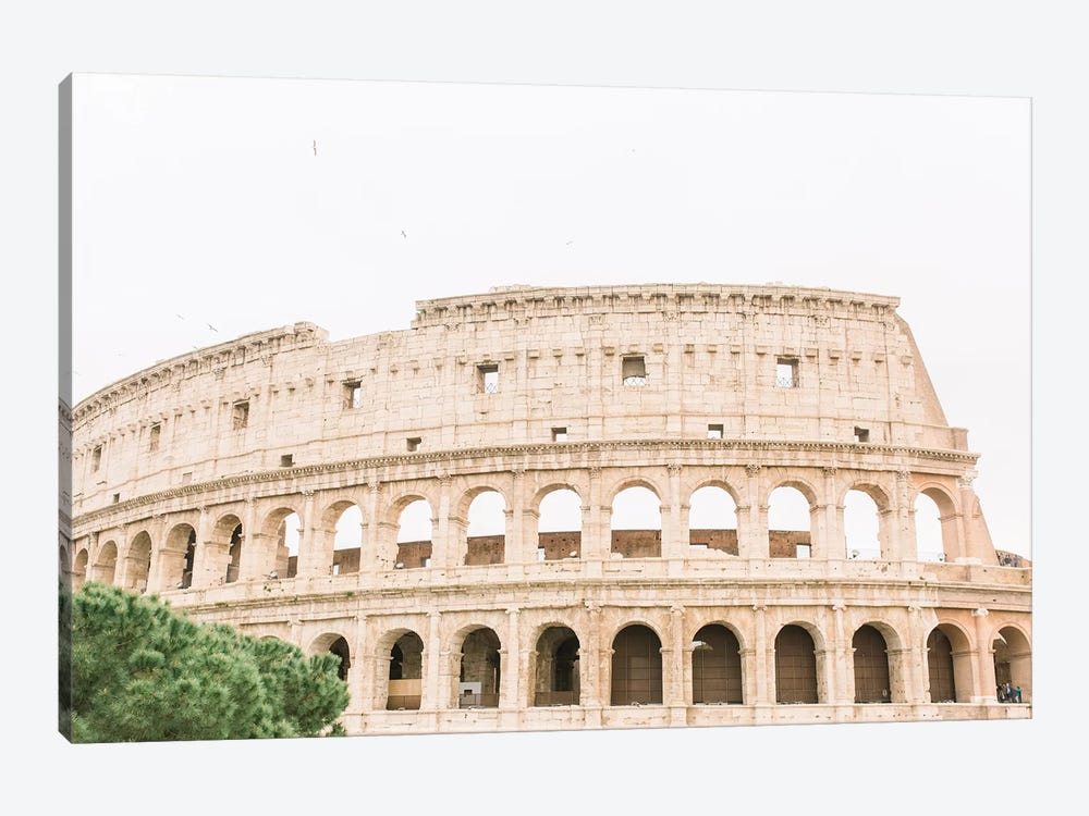 Colosseum III, Rome, Italy by lovelylittlehomeco 1-piece Canvas Wall Art