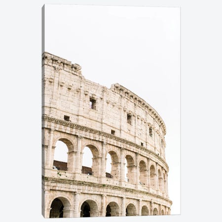 Colosseum IV, Rome, Italy Canvas Print #LLH45} by lovelylittlehomeco Canvas Art Print
