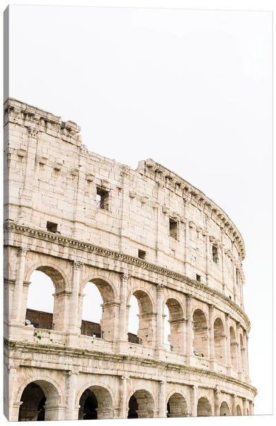 Colosseum IV, Rome, Italy Canvas Art Print