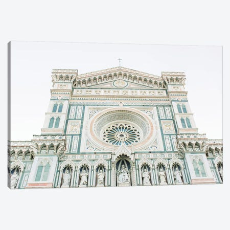 Duomo Cathedral I, Florence, Italy Canvas Print #LLH58} by lovelylittlehomeco Art Print