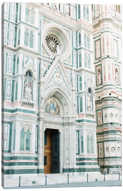 Duomo Cathedral Side View, Florence, Italy Canvas Art Print