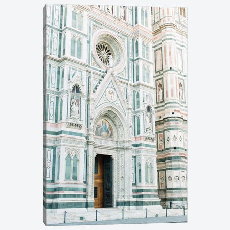 Duomo Cathedral Side View, Florence, Italy Canvas Print #LLH61} by lovelylittlehomeco Canvas Wall Art