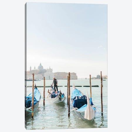 Gondolas, Venice, Italy Canvas Print #LLH67} by lovelylittlehomeco Canvas Print