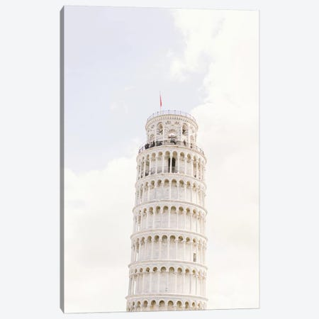 Leaning Tower Of Pisa I, Pisa, Italy Canvas Print #LLH74} by lovelylittlehomeco Canvas Wall Art