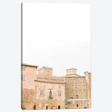 Minimal Rooftop I, Rome, Italy Canvas Print #LLH78} by lovelylittlehomeco Art Print