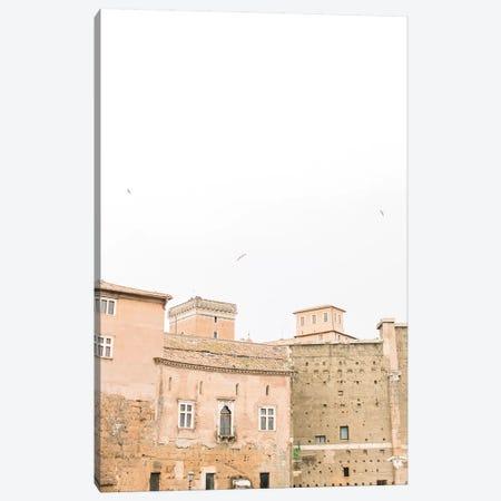 Minimal Rooftop I, Rome, Italy Canvas Print #LLH78} by lovelylittlehomeco Art Print