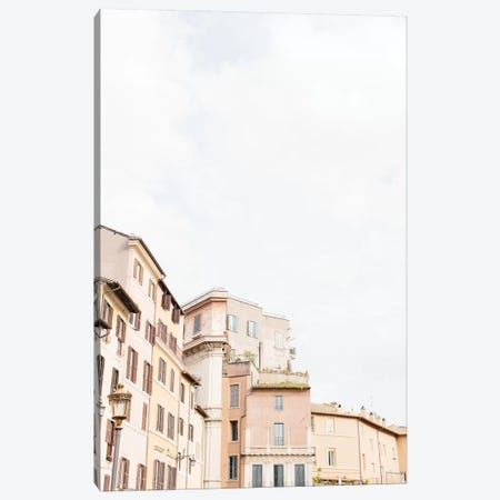 Minimal Rooftop II, Rome, Italy Canvas Print #LLH79} by lovelylittlehomeco Canvas Art Print