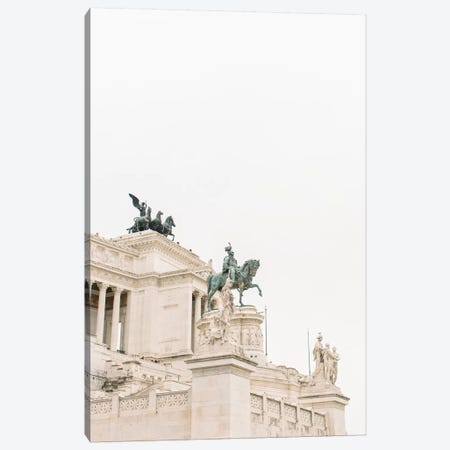 National Monument, Rome, Italy Canvas Print #LLH83} by lovelylittlehomeco Canvas Art