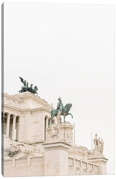 National Monument, Rome, Italy Canvas Art Print