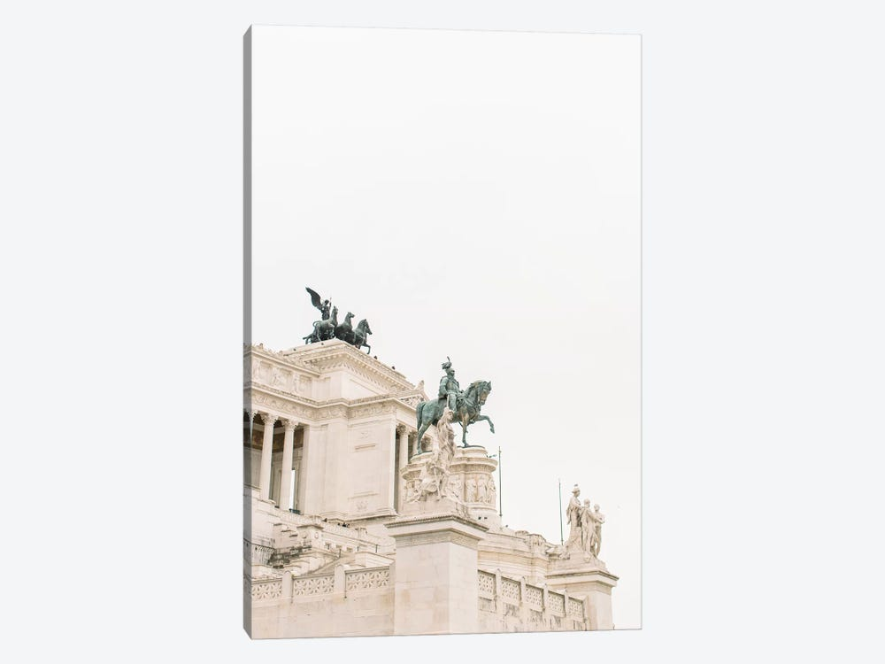 National Monument, Rome, Italy by lovelylittlehomeco 1-piece Canvas Art Print