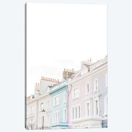 Notting Hill Rooftops, London, England Canvas Print #LLH85} by lovelylittlehomeco Art Print