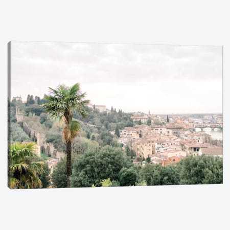 Palm Tree, Tuscany, Italy Canvas Print #LLH89} by lovelylittlehomeco Canvas Art