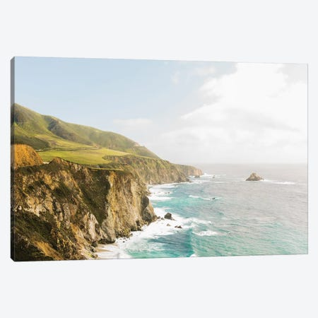 Big Sur I, California Canvas Print #LLH8} by lovelylittlehomeco Canvas Print