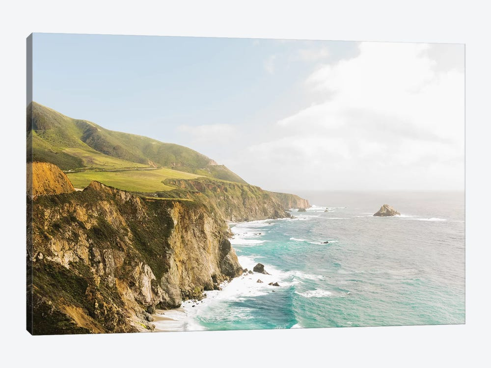 Big Sur I, California by lovelylittlehomeco 1-piece Canvas Artwork