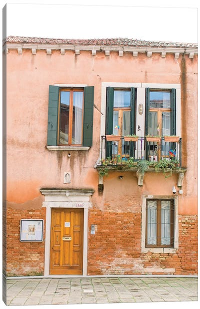 Pastal Building, Venice, Italy Canvas Art Print