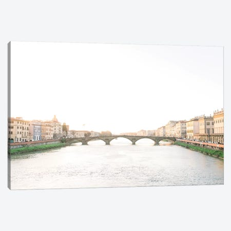 Ponte Alla Grazie, Florence, Italy Canvas Print #LLH92} by lovelylittlehomeco Art Print