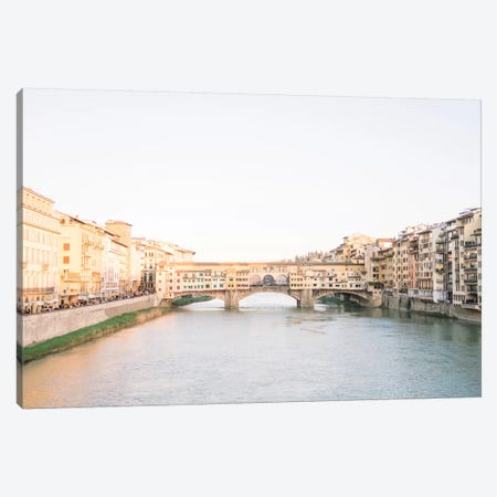 Ponte Vecchio, Florence, Italy 3-Piece Canvas #LLH93} by lovelylittlehomeco Canvas Art Print