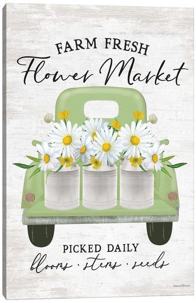 Flower Market Daisies Canvas Art Print