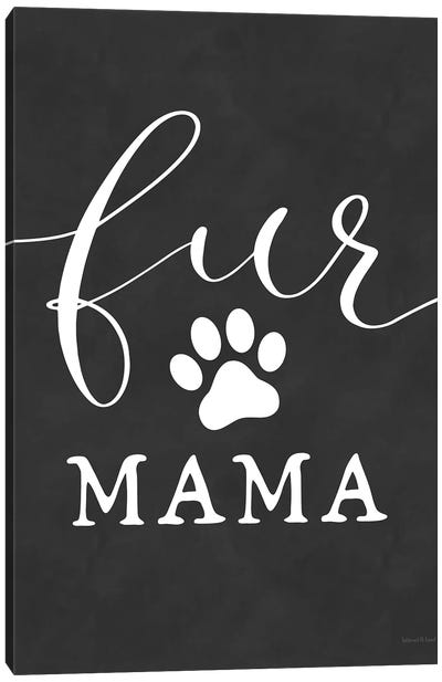 Fur Mama Canvas Art Print