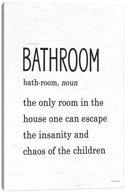Bathroom Escape Canvas Art Print