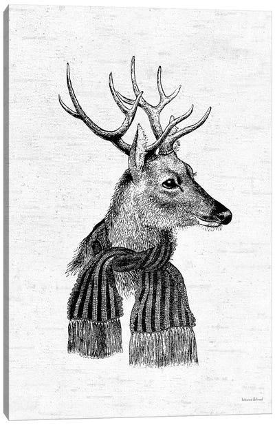 Holiday Reindeer Canvas Art Print