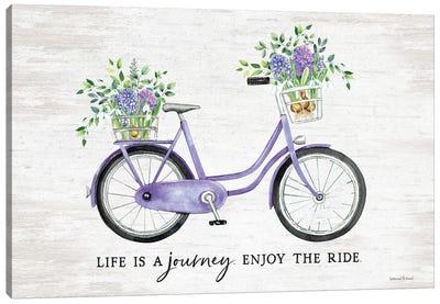 Enjoy The Ride Canvas Art Print