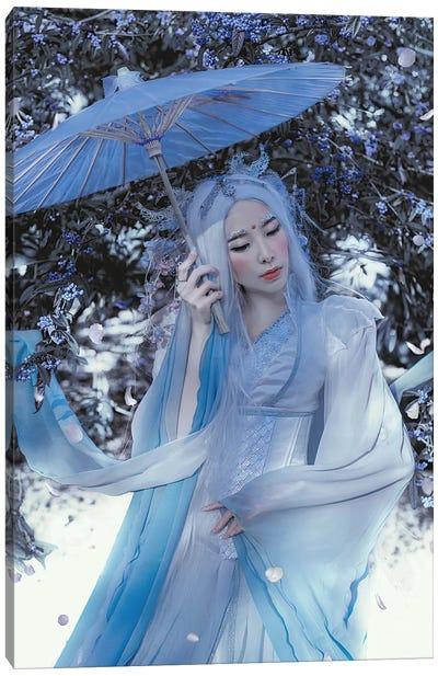 Blue Dragon Canvas Art Print