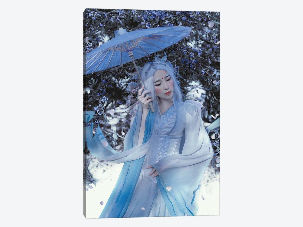 Blue Dragon by Lillian Liu 1-piece Canvas Wall Art