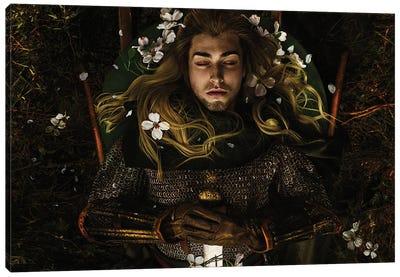 The Fallen Prince Canvas Art Print