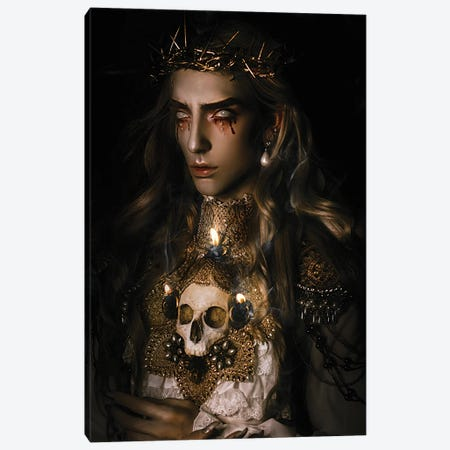 The Saint II Canvas Print #LLL15} by Lillian Liu Canvas Artwork