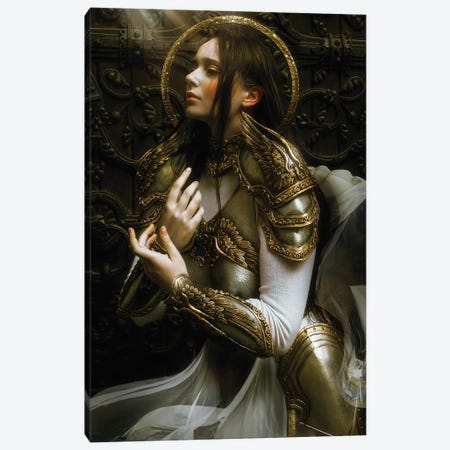 The Guardian Canvas Print #LLL1} by Lillian Liu Canvas Art Print