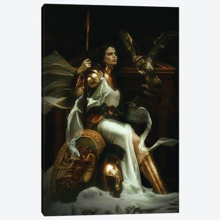 Athena Canvas Print #LLL21} by Lillian Liu Canvas Wall Art