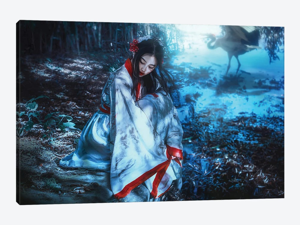 The Dreamer by Lillian Liu 1-piece Art Print