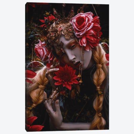 Blood Flower Canvas Print #LLL28} by Lillian Liu Canvas Art