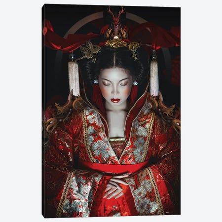 The Empress Canvas Print #LLL29} by Lillian Liu Canvas Art