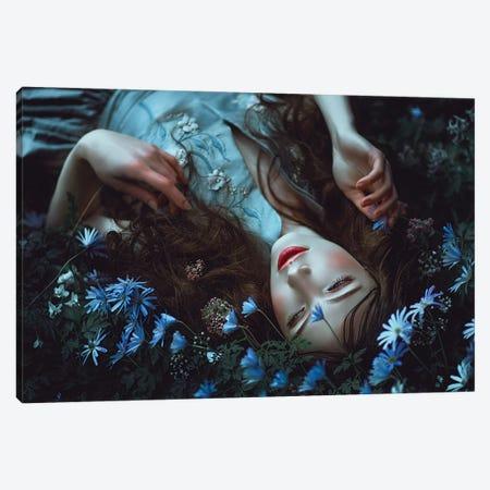 Periwinkle Dreamer Canvas Print #LLL30} by Lillian Liu Canvas Print