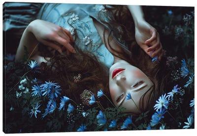 Periwinkle Dreamer Canvas Art Print