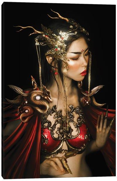 Red Dragon Canvas Art Print