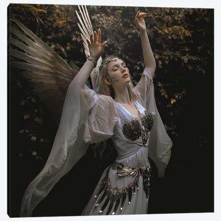 The Angel Canvas Print #LLL6} by Lillian Liu Canvas Wall Art