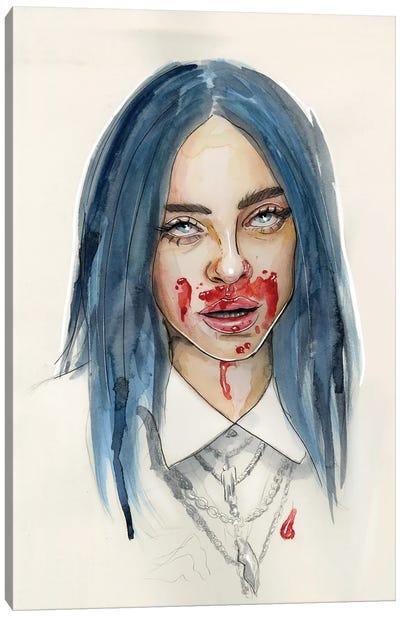 Billie Eilish VII Canvas Art Print